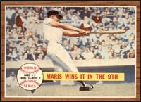 World Series Game #3, Maris Wins it in the 9th (Roger Maris) [NM+]