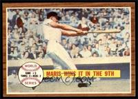 World Series Game #3, Maris Wins it in the 9th (Roger Maris) [EX MT]