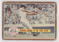 World Series Game #3, Maris Wins it in the 9th (Roger Maris) [Poor to …