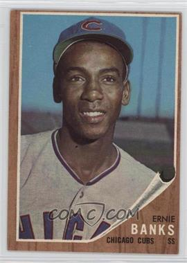 1962 Topps - [Base] #25 - Ernie Banks