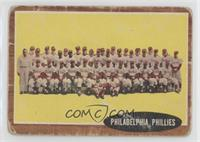 Philadelphia Phillies Team [Poor]