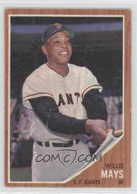 1962 Topps - [Base] #300 - Willie Mays [Good to VG‑EX]