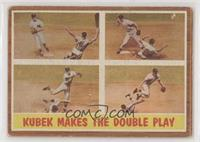 Kubek Makes the Double Play (Tony Kubek) [Good to VG‑EX]