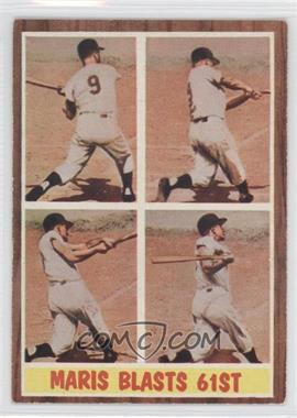 1962 Topps - [Base] #313 - Maris Blasts 61st (Roger Maris)