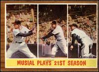 Musial Plays 21st Season (Stan Musial) [EX]