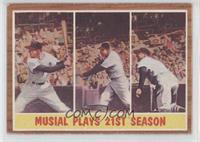 Musial Plays 21st Season (Stan Musial)