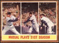 Musial Plays 21st Season (Stan Musial) [EXMT]