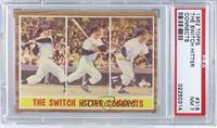 The Switch Hitter Connects (Mickey Mantle) [PSA 7]