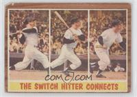 The Switch Hitter Connects (Mickey Mantle) [Poor to Fair]