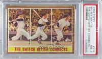 The Switch Hitter Connects (Mickey Mantle) [PSA 7 NM]