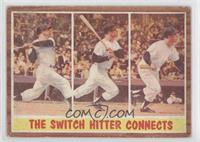 The Switch Hitter Connects (Mickey Mantle) [Good to VG‑EX]