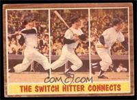 The Switch Hitter Connects (Mickey Mantle) [GOOD]