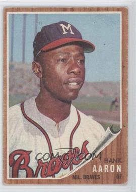 1962 Topps - [Base] #320 - Hank Aaron