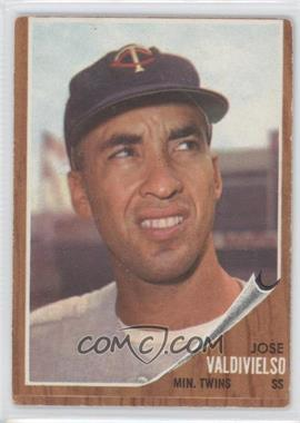 1962 Topps - [Base] #339 - Jose Valdivielso [Good to VG‑EX]