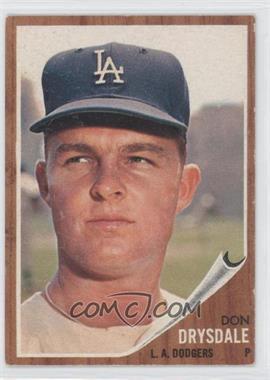1962 Topps - [Base] #340 - Don Drysdale
