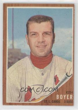 1962 Topps - [Base] #370 - Ken Boyer