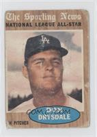Don Drysdale (All-Star) [Poor]