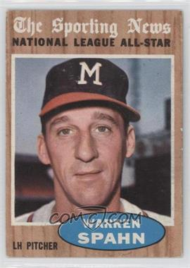 1962 Topps - [Base] #399 - Warren Spahn (All-Star)
