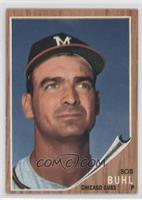 Bob Buhl (Braves M on cap)