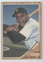 Willie Tasby (Senators W on cap) [GoodtoVG‑EX]