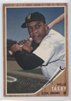 Willie Tasby (Senators W on cap)
