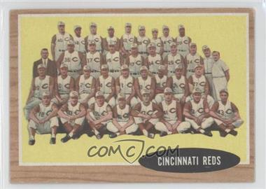 1962 Topps - [Base] #465 - Cincinati Reds Team
