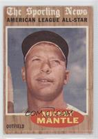 Mickey Mantle (All-Star) [Good to VG‑EX]