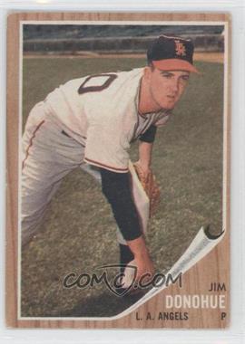 1962 Topps - [Base] #498 - Jim Donohue