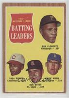 Roberto Clemente, Vada Pinson, Ken Boyer, Wally Moon