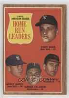 1961 American League Home Run Leaders (Roger Maris, Mickey Mantle, Harmon Kille…