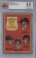 Roger Maris, Mickey Mantle, Harmon Killebrew, Jim Gentile [BVG 5.5 EX…