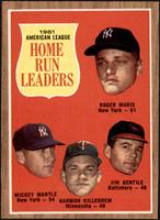 Roger Maris, Mickey Mantle, Harmon Killebrew, Jim Gentile [NM MT]