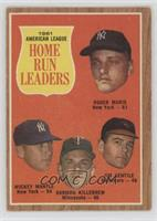 Roger Maris, Mickey Mantle, Harmon Killebrew, Jim Gentile [Poor to Fa…