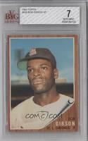 Bob Gibson [BVG 7 NEAR MINT]