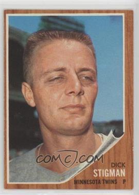 1962 Topps - [Base] #532 - Dick Stigman