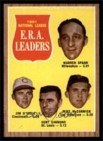 1961 National League E.R.A. Leaders (Warren Spahn, Jim O'Toole, Curt Simmons, M…