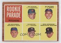 Rookie Parade - Dan Pfister, Bo Belinsky, Joe Bonikowski, Jim Bouton, Dave Sten…