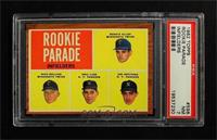 Rookie Parade - Bernie Allen, Rich Rollins, Phil Linz, Joe Pepitone [PSA7]