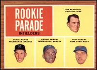 Rookie Parade - Jim McKnight, Denis Menke, Amado Samuel, Rod Kanehl [GOOD]