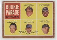 Rookie Parade - Al Luplow, Manny Jimenez, Ed Olivares, Jim Hickman, Howie Goss …