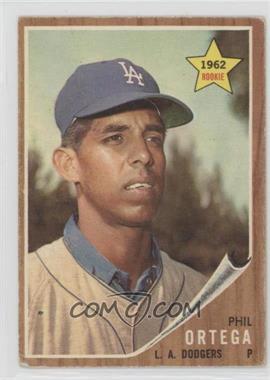 1962 Topps - [Base] #69 - Phil Ortega [GoodtoVG‑EX]