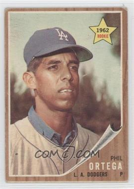 1962 Topps - [Base] #69 - Phil Ortega [Good to VG‑EX]