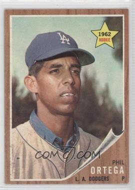 1962 Topps - [Base] #69 - Phil Ortega