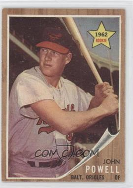 1962 Topps - [Base] #99 - John Powell