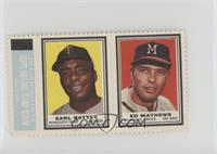 Earl Battey, Eddie Mathews