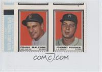 Frank Malzone, Johnny Podres