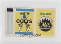 Houston Colts Team, New York Mets [GoodtoVG‑EX]