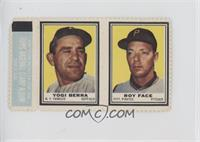 Yogi Berra, Roy Face [GoodtoVG‑EX]