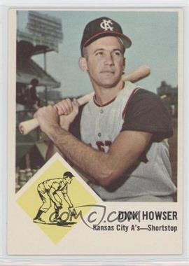 1963 Fleer - [Base] #15 - Dick Howser