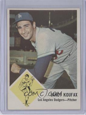 1963 Fleer - [Base] #42 - Sandy Koufax [GoodtoVG‑EX]